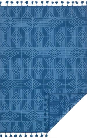 Loloi Kahelo Kh-05 Blue - Light Blue Area Rug