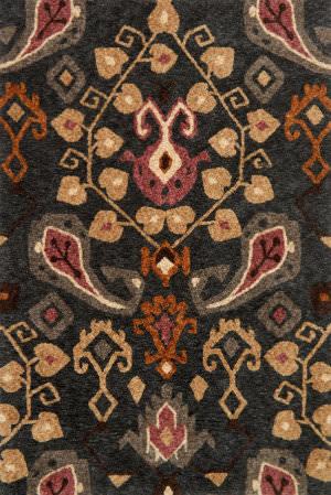 Loloi Kalliope Kp-05 Charcoal - Lilac Area Rug