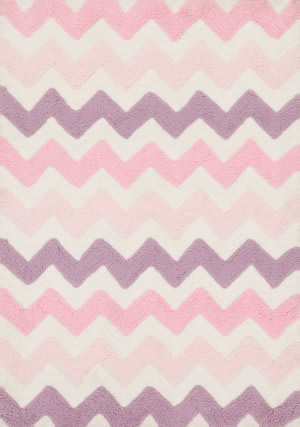 Loloi Lola Shag Ll-03 Pink - Purple Area Rug