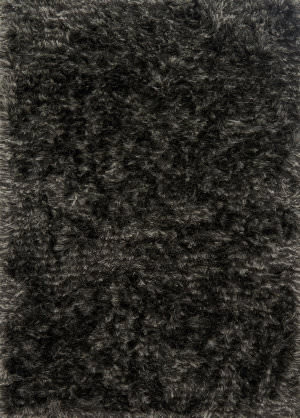 Loloi London Shag Lj-01 Charcoal - Silver Area Rug