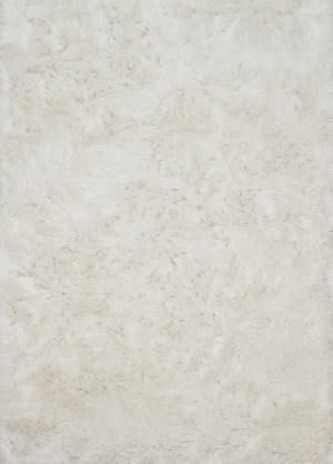 Loloi London Shag Lj-01 White Area Rug