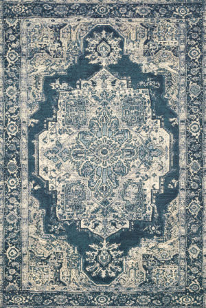 Loloi Mika Mik-01 Dark Blue Area Rug