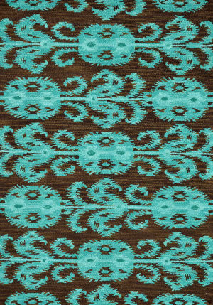 Loloi Milano Ml-07 Chocolate / Teal Area Rug