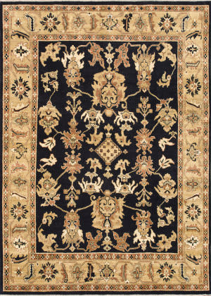 Loloi Morrow Mw-03 Black / Light Gold Area Rug