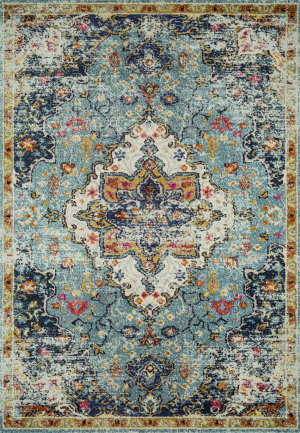 Loloi II Nadia Nn-04 Blue - Midnight Area Rug