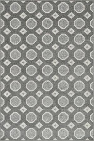 Loloi Oasis Os-02 Grey / Ivory Area Rug