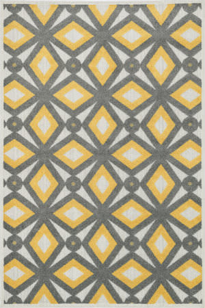 Loloi Oasis Os-04 Grey / Lemon Area Rug