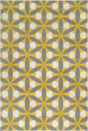 Loloi Oasis Os-10 Grey / Citron Area Rug