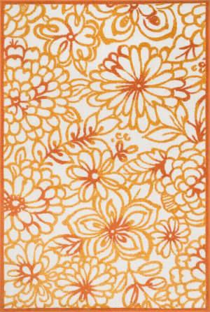 Loloi Oasis OS-13 Orange / Multi Area Rug