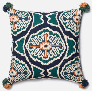 Loloi Pillow P0409 Blue - Teal