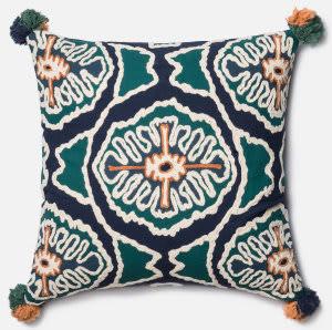 Loloi Pillow P0409 Blue - Teal