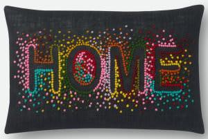 Loloi Pillows P0560 Black - Multi