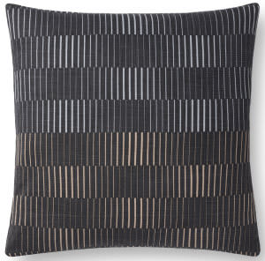 Loloi Pillows P0733 Charcoal