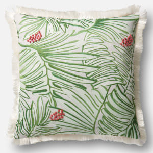 Loloi Pillow P0481 Green - Multi