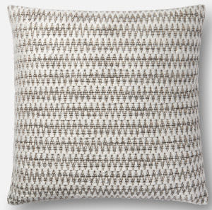 Loloi Pillows P0531 Natural - Black