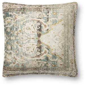 Loloi Pillows P0819 Green - Multi Area Rug