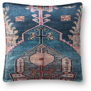 Loloi Pillows P0824 Blue - Multi Area Rug