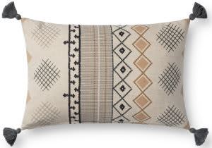 Loloi Pillows P0736 Natural - Multi
