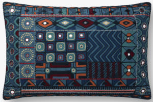 Loloi Pillows P0774 Blue - Multi