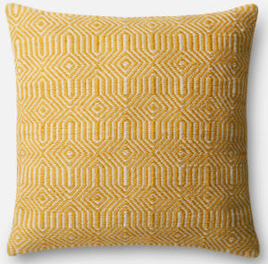 Loloi Pillow P0339 Yellow - Ivory