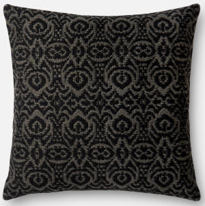 Loloi Pillow P0500 Black - Grey