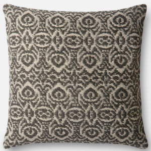 Loloi Pillow P0500 Grey - Ivory