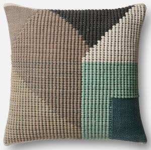 Loloi Pillow P0504 Teal - Multi