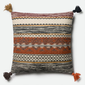 Loloi Pillow P0433 Rust - Multi
