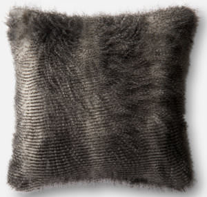 Loloi Pillow P0472 Black - Grey