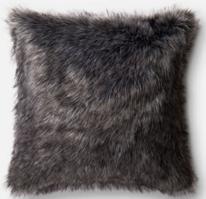 Loloi Pillow P0477 Black - Grey