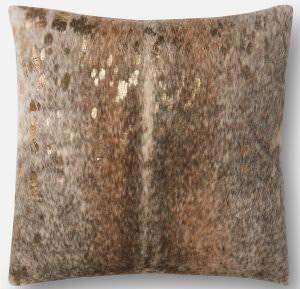 Loloi Pillows P0521 Pewter - Gold