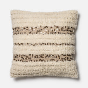 Loloi Pillow P0423 Ivory