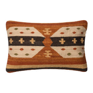 Loloi Pillow P0386 Rust - Beige