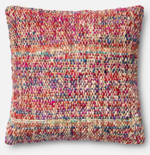 Loloi Pillow P0382 Red - Multi