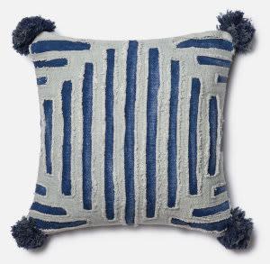 Loloi Pillow P0406 Blue - Grey