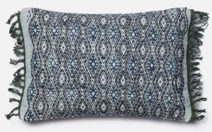 Loloi Pillow P0407 Blue - Grey