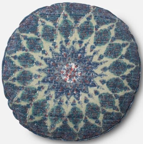 Loloi Pillow P0408 Blue - Teal