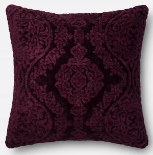 Loloi Pillow Gpi05 Eggplant