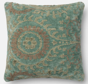 Loloi Pillow Gpi10 Blue Grass