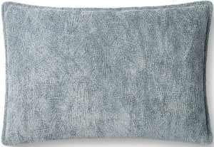 Loloi Pillows P0831 Light Blue Area Rug