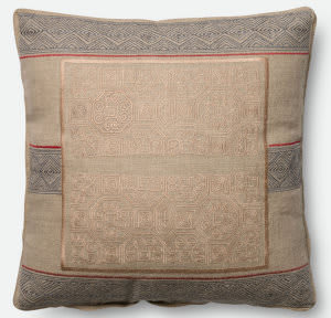 Loloi Pillow P0431 Beige - Blue