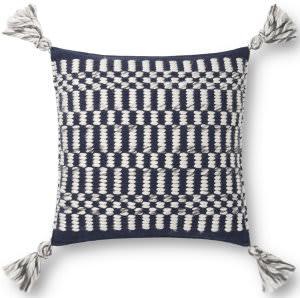 Loloi Pillows P0827 Navy - Ivory
