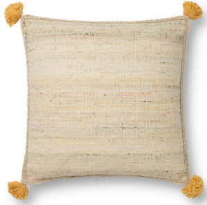 Loloi Justina Blakeney Pillows P0804 Beige - Multi Area Rug