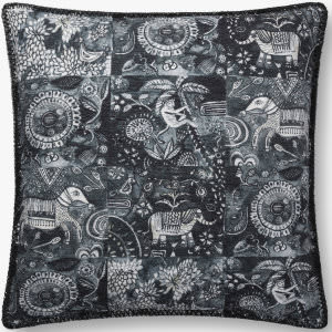 Loloi Pillows P0781 Charcoal