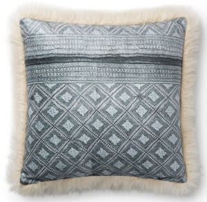 Loloi Pillows P0789 Multi - Ivory