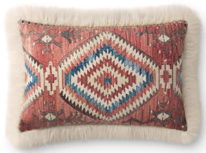 Loloi Pillows P0795 Multi - Ivory