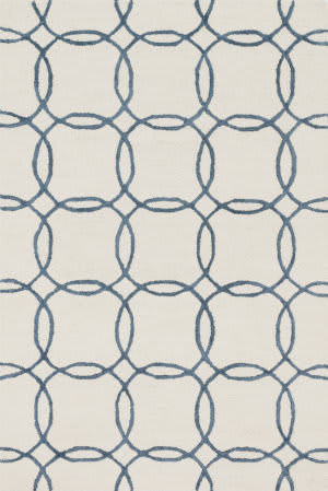 Loloi Panache Pc-08 Ivory - Blue Area Rug