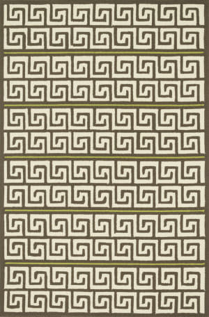 Loloi Palm Springs Pm-05 Brown / Green Area Rug
