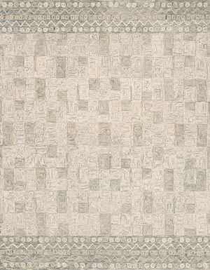 Loloi Priti By Justina Blakeney Prt-04 Pewter - Natural Area Rug