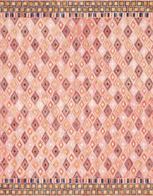 Loloi Priti By Justina Blakeney Prt-06 Pink - Sunset Area Rug